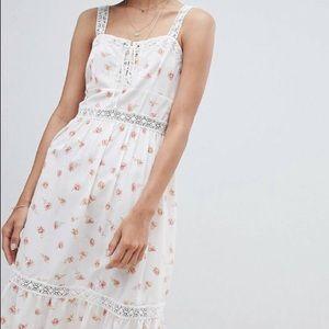 ASOS Tiered Floral Maxi Dress